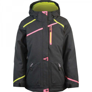 boulder gear girls' primo jacket- Save 20% Off - FEATURE of the Boulder Gear Girl's Primo Jacket Critical seam sealed YKK center front zipper Zippered hand and chest pocket Side ventilation Detachable hood Internal wrist cuffs Internal waist gaiter Intergrated internal storage(media/mobile/wallet) Quick adjust hem cinch cord Boulder Gear trims and embroideries