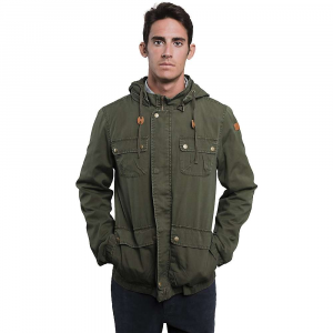 united by blue men's milton jacket- Save 35% Off - Features of the United By Blue Men's Milton Jacket Lightweight cotton twill Features a washed treatment for a more lived-in look Full zip and snap closure Stacked patch hand and chest pockets with snap flap closure Interior chest pocket Detachable hood