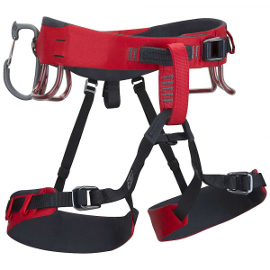 black diamond xenos climbing harness- Save 20% Off - The Black Diamond Xenos Climbing Harness is a Climbing harness for ice, alpine, and mixed ice adventures. The Kinetic Core Construction creates a lightweight, sleek, comfortable and durable harness for you to battle the mountains in safely. It's easily packable when not in use and the water-shedding shell material deters the elements without bogging you down. Forged Speed Adjust buckles Are used at the leg loops as well as the waist, for simple adjustments regardless of the layers you have on underneath. Haul your gear with four pressure-molded gear loops, six ice clipper slots, and a haul loop at the back. Last but not least, drop the leg loops quickly with the simple slide hook. Because climbers have to go to the bathroom too. Features of the Black Diamond Xenos Climbing Harness Pre-threaded Forged Speed Adjust waistbelt and leg loop buckles Bullhorn-shaped waistbelt built with Kinetic Core Construction 6 Ice Clipper slots and 5th gear loop for custom racking 4 pressure-molded gear loops and 12 kN-rated haul loop Constructed with water-shedding materials