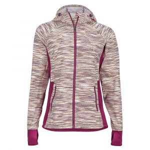 marmot women's muse jacket- Save 20% Off - The Marmot Women's Muse Jacket is a training jacket for cool weather. On trail or on the road, running requires layers when you're moving through colder conditions. The jacket is wind resistant as well as water repellent to protect you against blustery days that may show a sprinkle of rain or two. Features of the Marmot Women's Muse Jacket Wind resistant, water repellent, breathable Adjustable attached hood Zippered hand pockets Back vents for ventilation Softshell cuffs with thumbholes Elastic drawcord hem