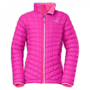 photo: The North Face Girls' Thermoball Full Zip Jacket synthetic insulated jacket