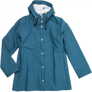 66north women's laugavegur rain jacket- Save 15% Off - Moosejaw is the exclusive North American retailer of 66North clothing and outerwear. If only our weather was as awesome as Iceland's.Features of the 66North Women's Laugavegur Rain Jacket Completely waterproof Metal snap closures on the front Adjustable hood Two front pockets