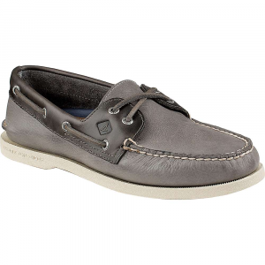sperry men's a/o 2-eye cross lace shoe- Save 12% Off - Features of the Sperry Men's A/O 2-Eye Cross Lace Shoe The Authentic Original in a versatile slip on Gore pattern, featured a crossed lace Genuine hand-sewn leather Uppers with True moccasin construction to ensure longevity of wear Genuine rawhide lace Molded Ortholite heel cup enhances shock absorption for added comfort Razor-Cut Wave-Siping delivers ultimate wet/dry traction with non-marking rubber Outsoles
