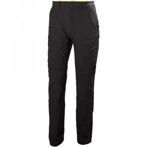 helly hansen men's dromi utility pant- Save 25% Off - Features of the Helly Hansen Men's Dromi Utility Pant Warp stretch twill weave fabric Front slant hand pockets Back patch pocket with flaps Zippered storage pocket at right tHigh Velcro closure storage pocket at left tHigh 4 Way stretch fabric Gusset crotch Reflective elements
