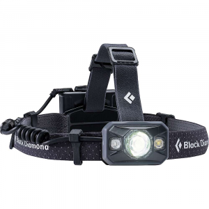 black diamond icon headlamp- Save 25% Off - The Black Diamond Icon Headlamp is a powerful headlamp for Climbing, hiking and trial running; all to the extreme. From the pros to those seeking utmost adventure, the 500-lumen output lights up the night with 1 QuadPower LED spotlight and 1 DoublePower white LED. Night vision, no problem, as this lamp is capable of red, green or blue modes. Dim as necessary or set it to strobe, all without worrying about water. IP67 standard for waterproofing allows it to operate up to 1 meter underwater for 30 minutes. Features of the Black Diamond Icon Headlamp One QuadPower LED spotlight and 1 DoublePower white LED emit 500 lumens (max. setting) Programmable Brightness Memory gives you the option to set the brightness level when first turned on Removable battery pack (longer cable included) Red, Green and Blue night vision modes cover the spectrum of night vision needs Settings include full strength (in proximity and distance modes), dimming, strobe, RGB night vision options and lock mode Three-level power meter shows remaining battery life for three seconds after switching on headlamp IP67: Waterproof and dust proof?Best for saltwater and extremely wet or dusty environments Completely sealed and tested to operate up to 1 meter underwater for 30 minutes Requires no maintenance after submersion