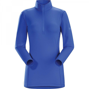 photo: Arc'teryx Women's Phase AR Zip-Neck LS base layer top