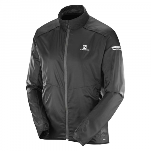 salomon men's agile jacket- Save 21% Off - Features of the Salomon Men's Agile Jacket Advanced skin shield Air vent system Articulated sleeves Full zip 2 Zipped pockets 360Adeg Reflective treatment Water-resistant coating