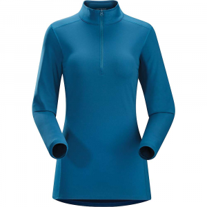photo: Arc'teryx Women's Phase AR LS Zip Neck long sleeve performance top