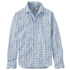 Timberland Men's Mystic River Coolmax Plaid LS Shirt