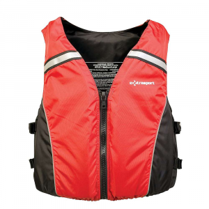 extrasport volksvest life vest- Save 41% Off - Features of the Extrasport Volksvest Life Vest Adjustable side webbing Narrow chest foam for superior range of motion Easy to wear front-zip style with our beefy non-corroding YKK Vislon 10 zipper