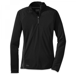 photo: Outdoor Research Essence Zip Tee long sleeve performance top