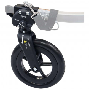burley 1 wheel stroller kit- Save 20% Off - Features of the Burley 1 Wheel Stroller Kit Stroller wheel stays attached and folds up out of the way when cycling Tool-free adjustment makes switching from bike to stroll mode simple Adjustable tracking makes for consistent, easy rolling Burley?s easy-glide tow bar retracts closer to the trailer for easy maneuverability Stroller wheel pushes easily Compatible with the D'Lite, Encore, Solo, Cub, Honey Bee and Tail Wagon