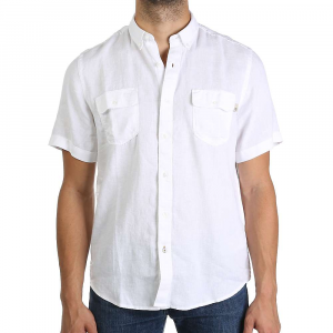 Timberland Men's Warner River Linen SS Shirt