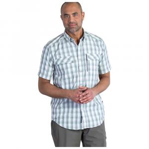 Image of ExOfficio Men's Lodestone Plaid SS Shirt