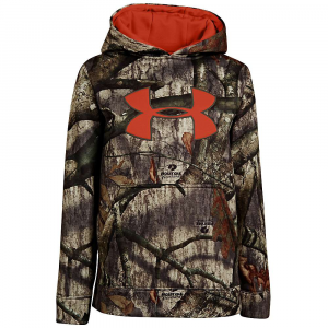 Under Armour Camouflage Big Logo Hoodie