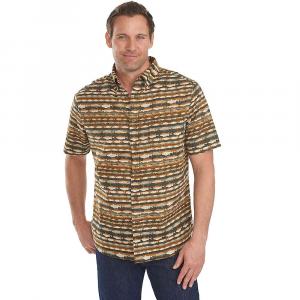 woolrich men's walnut run print ss shirt- Save 50% Off - Features of the Woolrich Men's Walnut Run Print Short Sleeve Shirt Button-Down Collar Left Chest Patch Pocket Classic Shirt Tail Vintage Inspired Prints