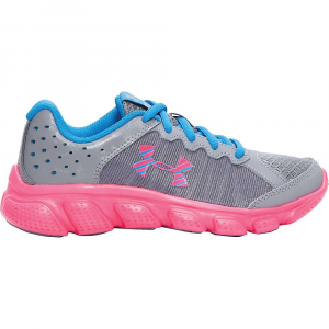 under armour girls' ua gps assert 6 shoe- Save 19% Off - Features of the Under Armour Girls' UA GPS Assert 6 Shoe Upper Uses light, supportive foam between two soft layers of breathable mesh Durable leather overlays for stability that locks in your midfoot Antimicrobial treatment applied to minimize the risk of odor causing bacteria and infectious fungus Full-length cushioned EVA Midsole delivers the ultimate lightweight and responsive ride Strategically placed rubber traction covers High impact zones for greater durability with less weight Non-marking rubber Outsole delivers greater traction with less weight