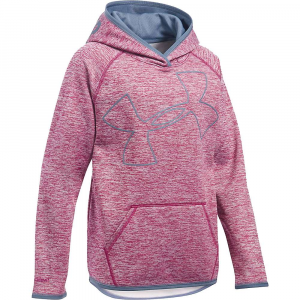 Under Armour Girls' UA Storm Armour Fleece Novelty Big Logo Hoody
