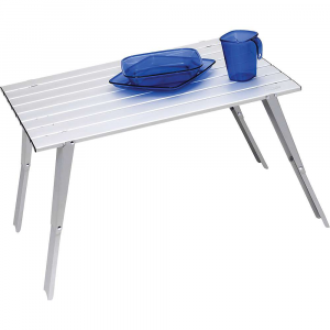 gsi outdoors macro table- Save 20% Off - Features of the GSI Outdoors Macro Table Flame and heat resistant anodized aluminum construction Dual height legs: 8.5/14.75 (216/375 mm) Sturdy design holds 20 lbs (9.1 kg; max. capacity) 24 x 18.375 footprint collapses to less than 0.15 cu. ft. (24 x 2.375 x 4.75)