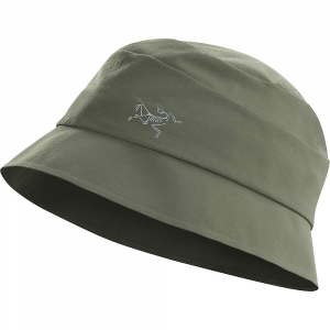 arcteryx men's sinsolo hat- Save 20% Off - Features of the Arcteryx Men's Sinsolo Hat Go-to-hat Features a full brim and a reflective bird logo Laminated brim is fully compressible and packs easily in a pocket Sun protection for long days in the sun Anatomical design and Fit Lightweight and breathable Laminated construction eliminates bulk and stiffness