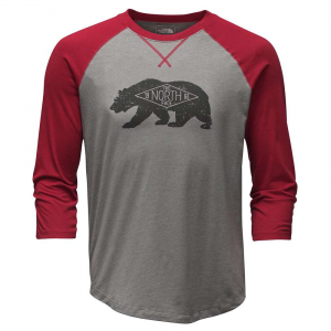 The North Face Men's 3/4 Sleeve Heritage Bear Cub Tee