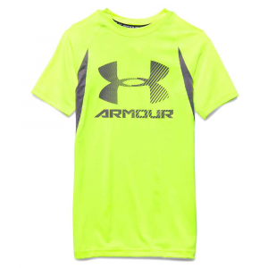 Under Armour Boys' Heatgear Armour Up Digi SS Fitted T Shirt