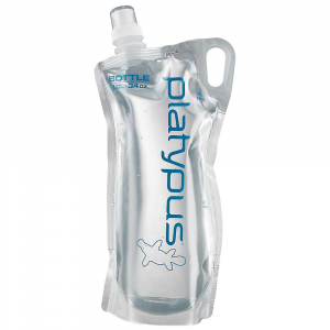 platypus plusbottle- Save 23% Off - Based on the supreme versatility of the original Platy bottle, they've upgraded the Plusbottle by Platypus to make it the finest one-liter vessel on the planet. First, we created an all-new film that is softer and more flexible, yet even more durable for added value. We then added an all-natural, silver-ion based anti-microbial we call SlimeGuard, to help keep our taste-free films gunk-free too. Together with a more ergonomic shape and a handy carry loop, you just won't find a better bottle on earth. The Specs Volume: 34 oz / 1.0 liter Dimension: 6 x 11.5in. / 15.5 x 30 cm Cap: Closure, Push-Pull