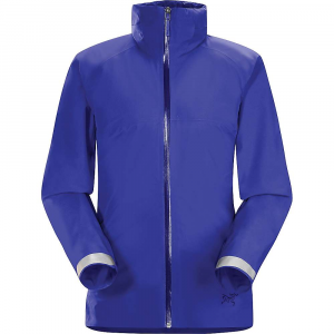 arcteryx women's a2b commuter hardshell jacket- Save 38% Off - The Arc'teryx Women's A2B Commuter Hardshell Jacket is a waterproof jacket for city biking and walking. When you've gotta get to work, it's not always going to be sunshine and rainbows. The N40p Gore-TEX fabric provides waterproof/breathable protection against wet, windy weather and looks like you're ready for work when you hop off the bike. When on the move, the cuffs fold down and reveal reflective tape and fold away when you arrive. Hopefully the rain clears soon and you can pack this away in your messenger bag, but it'll always be in your bag ready to go if the weather turns back again. Features of the Arcteryx Women's A2B Commuter Hardshell Jacket N40p Gore-Tex fabric with 3L tricot Technology provides waterproof/breathable protection Fit and articulation specifically designed for the urban cyclist Low profile StowHood provides weather protection, zips into collar, Fits under most bike helmets Shaped hood allows full range of movement and exceptional peripheral vision Integrated stowable reflective surfaces on cuffs and back hem Hand pockets, internal chest pocket, back pocket Gel bird logo