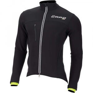 capo men's gs-13 soft shell jacket- Save 64% Off - Features of the Capo Men's GS-13 Soft Shell Jacket Anatomically shaped panels Ultra High-gauge muscle compression Reduced heat absorption Rapid moisture transfer Enhanced support Freedom of movement Reduced fatigue Temperature regulation UV and anti-microbial protection Advanced Technology System Coldblack Meryl ActiSystem Carbon Elastic Interface Technology