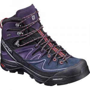 Image of Salomon Women's X Alpine Mid Leather GTX Boot