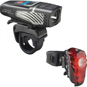 NiteRider Lumina 950 OLED Boost & Solas 100 Combo Bike Light
