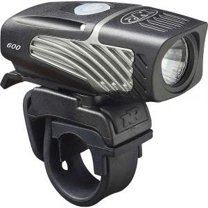 niterider lumina micro 600 bike light- Save 27% Off - Features of the NiteRider Lumina Micro 600 Bike Light 4 Light levels plus 1 daylight flash mode FL1 Standard IP64, dust and water resistant Affordable, High output light using a Cree LED at 6000k Ultra lightweight 600 lumen head light, weighing in at only 130g including mount Easy on and off handlebar strap mount with quick release tab Fits standard and Oversize 35mm handlebars Small compact design that's perfect for helmet mounting Convenient USB rechargeable Low battery indicator Lock mode, perfect for use during storage and transporting the light Press and hold power button for 7 seconds to lock out operation of light