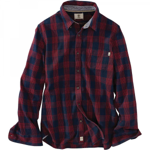 Timberland Mens Sugar River LW Plaid Cargo LS Shirt