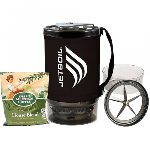 jetboil spare cup grande java kit- Save 20% Off - FEATURE of the Jetboil SpAre Cup Grande Java Kit Grande Coffee Press and coffee sample pack included 1.8 Liter FluxRing cooking cup with insulating cozy Drink-through lid with pour spout and strainer Bottom cover doubles as a measuring cup and bowl Able to store a 100 g or 230 g Jetpower fuel can, with Burner, Fuel Canister Stabilizer, Pot Support and Grande Coffee Press