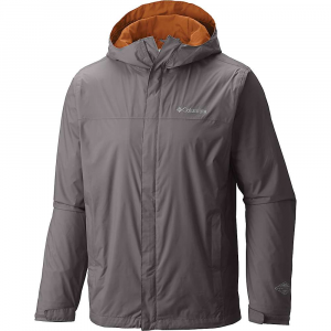 Men's Backpackers Watertight Jacket Rain com Columbia Ii