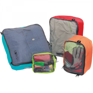 exped mesh organiser ul bag set- Save 20% Off - Features of the Exped Mesh Organiser UL Bag Set Lightweight, air permeable and transpArent mesh organizers Large zipper opening for quick access Ideal for packing appArel, variable use
