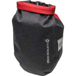blackburn barrier city pannier- Save 25% Off - Features of the Blackburn Barrier City Pannier Welded seam construction Roll top design Interlock compatible hardwAre Clear side panel Reflective print for added visibility Robust, abrasion-resistant