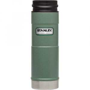stanley classic 16oz one hand vacuum mug- Save 14% Off - Features of the Stanley Classic 16oz One Hand Vacuum Mug Vacuum Insulation body and thermal lid keep drinks hot or cold 7 hours or iced 30 hours 18/8 stainless steel won't rust; naturally BPA-free Push button lid lets you open, drink, close with one hand Leak proof and fully packable Dishwasher safe, lid disassembles for deep cleaning