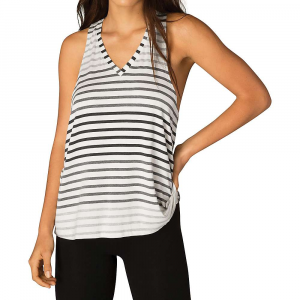 Beyond Yoga Womens Bring It Ommmbre Striped Racer Tank Top