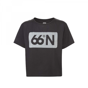 Image of 66North Women's Gjola Box Chest Logo T-Shirt