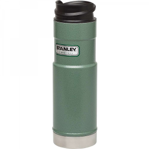 stanley classic 20oz one hand vacuum mug- Save 13% Off - Features of the Stanley Classic 20oz One Hand Vacuum Mug Vacuum Insulation body and thermal lid keep drinks hot 9 hours, cold 8 hours or iced 35 hours 18/8 stainless steel won't rust; naturally BPA-free Push button lid lets you open, drink, close with one hand Leak proof and fully packable Dishwasher safe, lid disassembles for deep cleaning