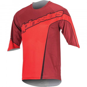 Alpine Stars Men's Crest 3/4 Sleeve Jersey