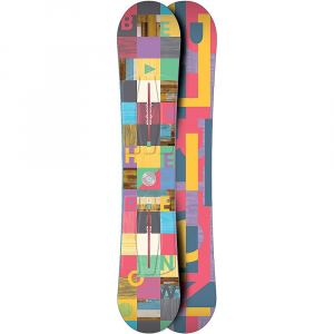 burton women's feather snowboard- Save 29% Off - The Burton Women's Feather SnowBoard is a soft SnowBoard for riding groomed runs and improving skills whenever you're able to get out. A Flat Top; bend gives you plenty of stability through turns and balance without catching at the tip or tail. Ride regular or switch, 'cause even with the extra pop in the tail and longer nose you'll be rocking it with the Twin Flex. Build your skills, have fun with your friends and make the most out of every run. Features of the Burton Women's Feather SnowBoard Flat Top: Stability, better balance, continuous edge control tip and tail kick up with an early rise outside feet for catch-free Directional Shape: classic SnowBoard shape, designed to be ridden with a slightly longer nose than tail to concentrate pop in tail, plenty of float, flow, and control to rip any terrain or condition 3-6MM Taper: apered shape means nose is wider than tail, promoting smooth turn entry and exit, stability at speed, and enhanced deep Snow flotation Look for different amounts of taper throughout line Twin Flex: Perfectly symmetrical from tip to tail for a balanced ride that's equally versatile regular or switch Dualzone EGD: Engineered Wood grains for more edge-hold, response, and strength Wood grain is positioned along toe and heel edges on two continuous zones, perpendicular to rest of Wood core, for consistent edge-hold and added strength Biax Fiberglass: Features a jib-friendly, torsionally soft flex and forgiving, park-friendly feel Extruded Base: Speed, strength, and graphical pop in a base that requires little maintenance Squeezebox Low: Profiled core for easier Board control, more energy, and popWith an overall easier feel, NEW Squeezebox Low brings High-end core profiling Technology to progressing rider Stiffer zones just outside your feet create a more direct energy transfer to tip and tail, while enabling a softer, smoo r flex between bindings end result is more control with less effort from rider Channel: Stronger, faster, easier, and more adjustable ultimate control of stance and Board, compatible with all major bindings Filet-O-Flex: Some riders want a more flexible Board without sacrificing Performance NEW Filet-O-Flex solves that challenge with ultra-thin profiling that creates soft Boards that rip with maximum stability, durability, and grip An additional beneFit is subtle suspension and underfoot padding Cruise Control Edge Tune: This catch-free edge tune combines with Rocker on clash, Fea r, Genie, and Ripcord to help new riders progress, and good riders get even better