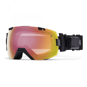 smith i/ox turbo fan snow goggle- Save 25% Off - Features of the Smith I/OX Turbo Fan Snow Goggle Silent two-speed Elite turbo exhaust fan The interchangeable lens system makes switching lenses easy Includes bright light and low light Performance mirror lenses ChromaPop lens Technology enhances clarity and natural color Anti-fog inner lens engineered to provide five times the absorptive properties Tapered lens Technology straightens out the incoming light rays by progressively tapering the lens from the optical center toward the peripheral view Porex filter solves the issue of changing elevations and atmospheric pressure by allowing the air pressure within the sealed lens chamber to equalize QuickFit strap adjustment system with clip buckle Responsive Fit design allows the frame to adjust and flex to the contours of your face 3-Layer DriWix face foam ODS3 and eyeglass compatible Floating foam membrane eliminates eyeglass temple pressure Ultra-wide, silicone backed strap Rotating outrigger positioning system Includes microfiber goggle bag with replacement lens sleeve TR90 frame material Compatible with PivLock Arena, Arena Max, and V2 Max sunglasses PivLock nose bridge and goggle nose bridge adaptor included Microfiber cleaning cloth and storage bag included