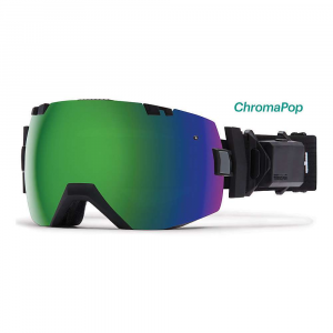 smith i/ox turbo fan asian fit snow goggle- Save 15% Off - Features of the Smith I/OX Turbo Fan Asian Fit Snow Goggle Silent two-speed Elite turbo exhaust fan The interchangeable lens system makes switching lenses easy Includes bright light and low light Performance mirror lenses ChromaPop lens Technology enhances clarity and natural color Anti-fog inner lens engineered to provide five times the absorptive properties Tapered lens Technology straightens out the incoming light rays by progressively tapering the lens from the optical center toward the peripheral view Porex filter solves the issue of changing elevations and atmospheric pressure by allowing the air pressure within the sealed lens chamber to equalize QuickFit strap adjustment system with clip buckle Responsive Fit design allows the frame to adjust and flex to the contours of your face 3-Layer DriWix face foam ODS3 and eyeglass compatible Floating foam membrane eliminates eyeglass temple pressure Ultra-wide, silicone backed strap Rotating outrigger positioning system Includes microfiber goggle bag with replacement lens sleeve TR90 frame material Compatible with PivLock Arena, Arena Max, and V2 Max sunglasses PivLock nose bridge and goggle nose bridge adaptor included Microfiber cleaning cloth and storage bag included