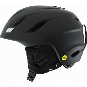giro nine mips snow helmet- Save 15% Off - The Giro Nine MIPS Snow Helmet is a lightweight helmet for safe Snow adventure down the mountain. Low profile so it won't take over your head with a Form Fit System that dials in the comfort for all-day protection. Equipped with MIPS, you're getting added protection for multi-directional impacts. Up at the top of the helmet is a little adjustment button to give you Thermostat Control venting. Sometimes your head is hot and sometimes it's cold. Features of the Giro Nine MIPS Snow Helmet Multi-directional impact protection system Compatible with aftermarket Giro audio systems by outdoor Tech Seamless compatibility with all Giro goggles Thermostat control adjustable venting Super cool vents Stack ventilation Vertical tuning In form Fit system assures a secure Fit while adjustable venting regulates airflow to help keep goggles fog-free