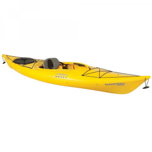 necky manitou sport kayak- Save 15% Off - The Necky Manitou Sport Kayak is a stable kayak for recreational boating. Plenty of space within the cockpit for easy entry and exit, with an Active Comfort System 2.0 seat for comfort and Performance during your paddle. A drink holder hangs onto your favorite beverage and a single back hatch hangs onto a cooler or extra gear you'd like to bring along as you paddle out to that island in the middle of the lake. At just under 11 feet of length, this boat moves with an efficiency that will impress. Features of the Necky Manitou Sport Kayak Stern Quick Seal hatch with Cross Lock? buckle system and bulkhead Support Track foot brace system Foam tHigh pads ACS 2.0 (Active Comfort System 2.0) seat