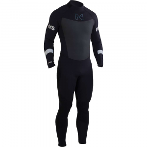 nrs men's radiant 3/2mm wetsuit- Save 19% Off - Features of the NRS Men's Radiant 3/2mm Wetsuit No more cold, damp wetsuit in the morningexclusive VaporLoft lining eliminates clamminess and feels soft and warm against your skin 3 mm Terraprene neoprene in the chest, back, shoulders and most of the legs provides warmth where you need it most 2 mm Terraprene under the arms, along the sides of the chest and behind the knees allows excellent mobility for paddling, rowing and swimming PowerSpan exterior fabric stretches with your every movement for unrestricted range of motion Smooth-skin neoprene on the chest and back reduce evaporative cooling We put the heavy-duty YKK zipper in the back so you can paddle your SUP, surf or body Board in comfort Glued and blind-stitched seams lie smooth against your skin for greater comfort Titanium laminate adhesive reflects heat back to your body, keeping you warmer ToughTex pads protect your knees when kneeling on your Board or on shore