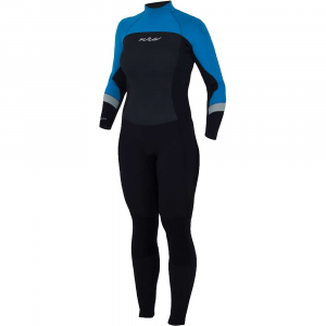 nrs women's radiant 3/2mm wetsuit- Save 19% Off - Features of the NRS Women's Radiant 3/2mm Wetsuit Cut and tailored for a woman's body No more cold, damp wetsuit in the morning!exclusive VaporLoft lining eliminates clamminess and feels soft and warm against your skin 3 mm Terraprene neoprene in the chest, back, shoulders and most of thelegs provides warmth where you need it most 2 mm Terraprene under the arms, along the sides of the chest and behindthe knees allows excellent mobility for paddling, rowing and swimming PowerSpan exterior fabric stretches with your every movement forunrestricted range of motion Smooth-skin neoprene on the chest and back reduce evaporative cooling We put the heavy-duty YKK zipper in the back so you can paddle yourSUP, surf or body Board in comfort Glued and blind-stitched seams lie smooth against your skin for greatercomfort Titanium laminate adhesive reflects heat back to your body, keeping youwarmer ToughTex pads protect your knees when kneeling on your Board or onshore