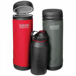 outdoor research water bottle parka- Save 26% Off - Features of the Outdoor Research Water Bottle Parka Durable Water Resistant Polyester Knit Lining Open-Cell Foam Insulation EVAMolded Foam Lid and Base Water-Resistant Coated Zippers Reinforced Nylon Webbing with Hook/Loop Attachment